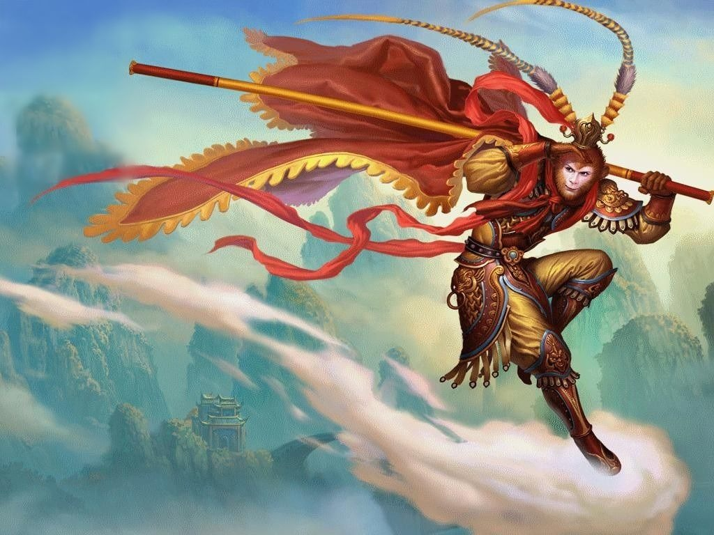 Die Geschichte des Affenkönigs, Sun Wukong