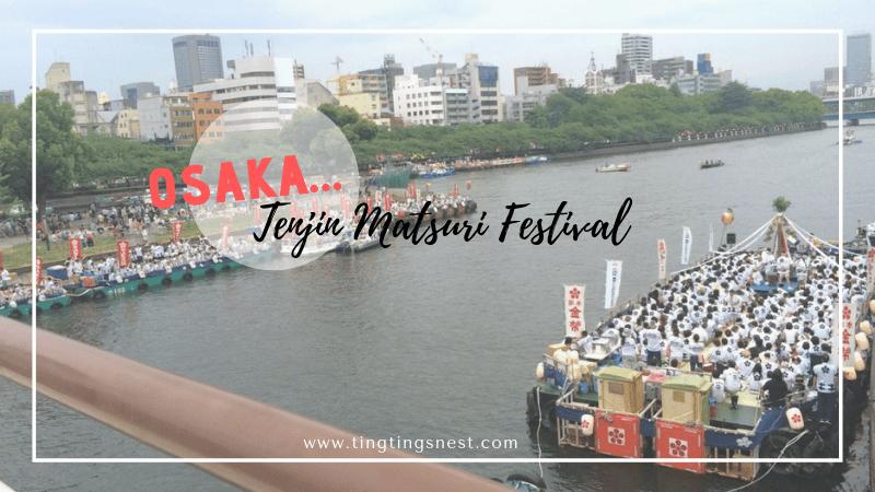 Tenjin Matsuri Festival Reisebericht, Osaka