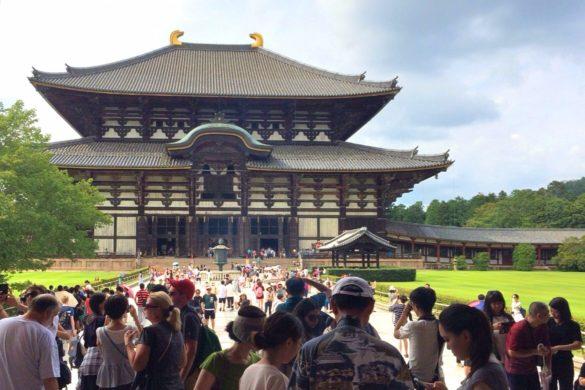 Kasuga Schrein & Todaiji Tempel in Nara