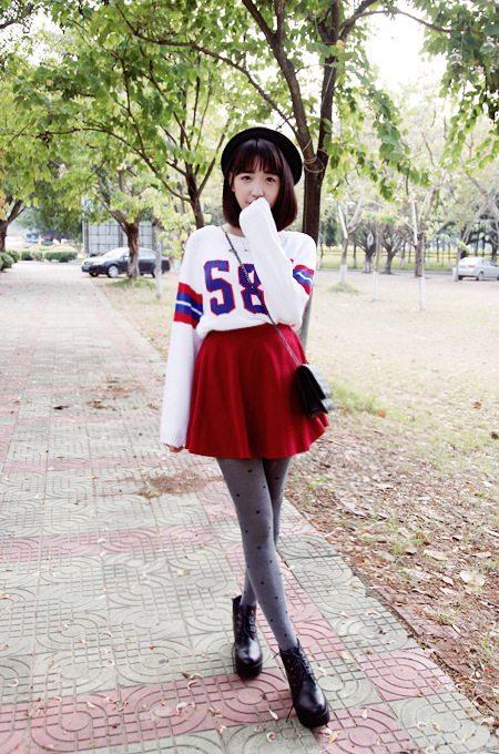 Unterschied zwischen der asiatischen und westlichen Mode