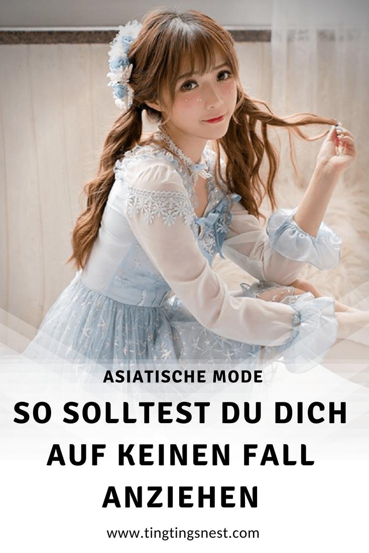 die asiatische mode im vergleich zur westlichen mode