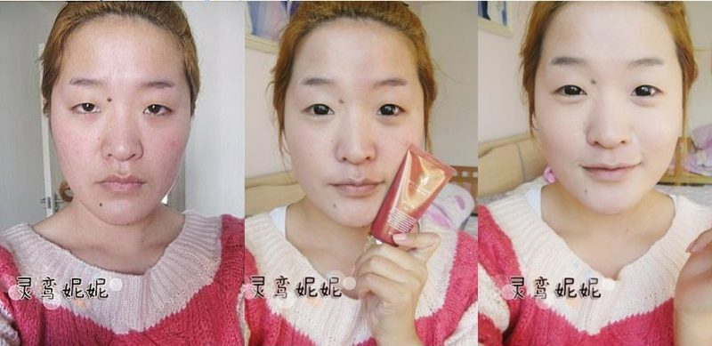 Chinesisch schminken augen Wie kann