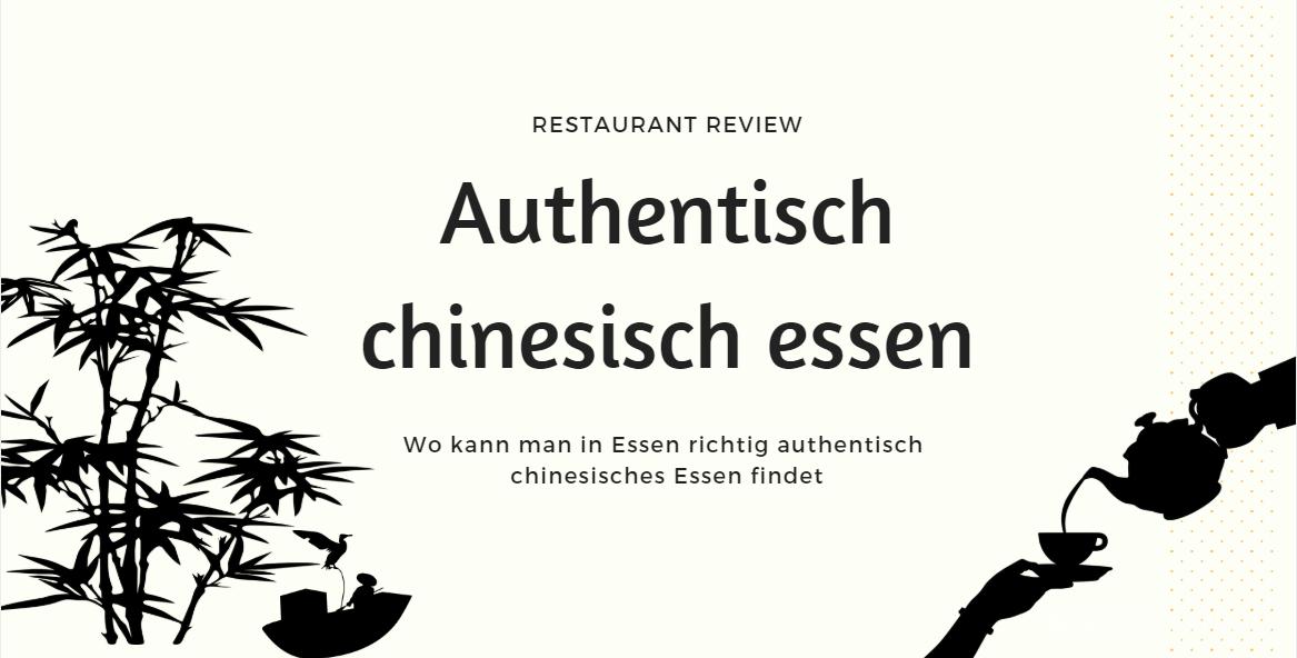 Authentisch Chinesisch Essen In Essen Ting Ting S Nest