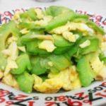 ♨Gebratene Bittermelone mit Eiern – Kugua Chao Jidan