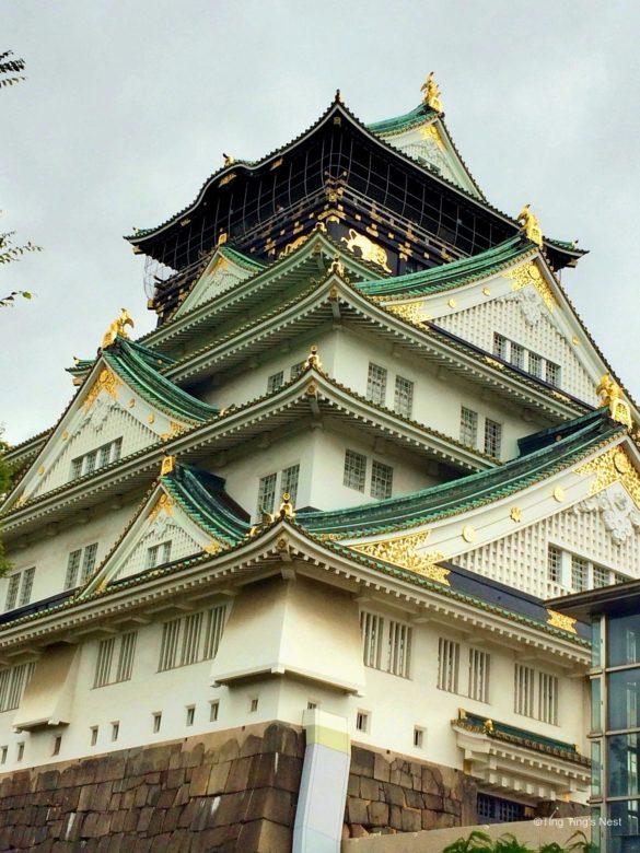 Japan Reisebericht – Burg Osaka (Osaka Castle)
