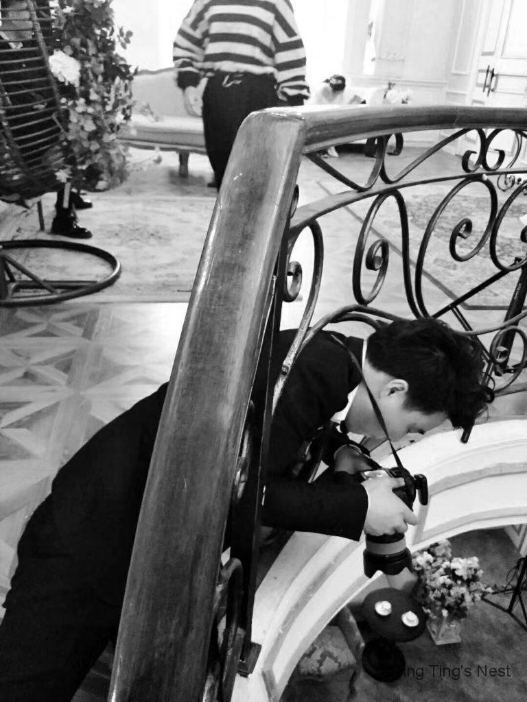 Chinesische Hochzeitsfotos beim Fotografen - Erfahrungsbericht