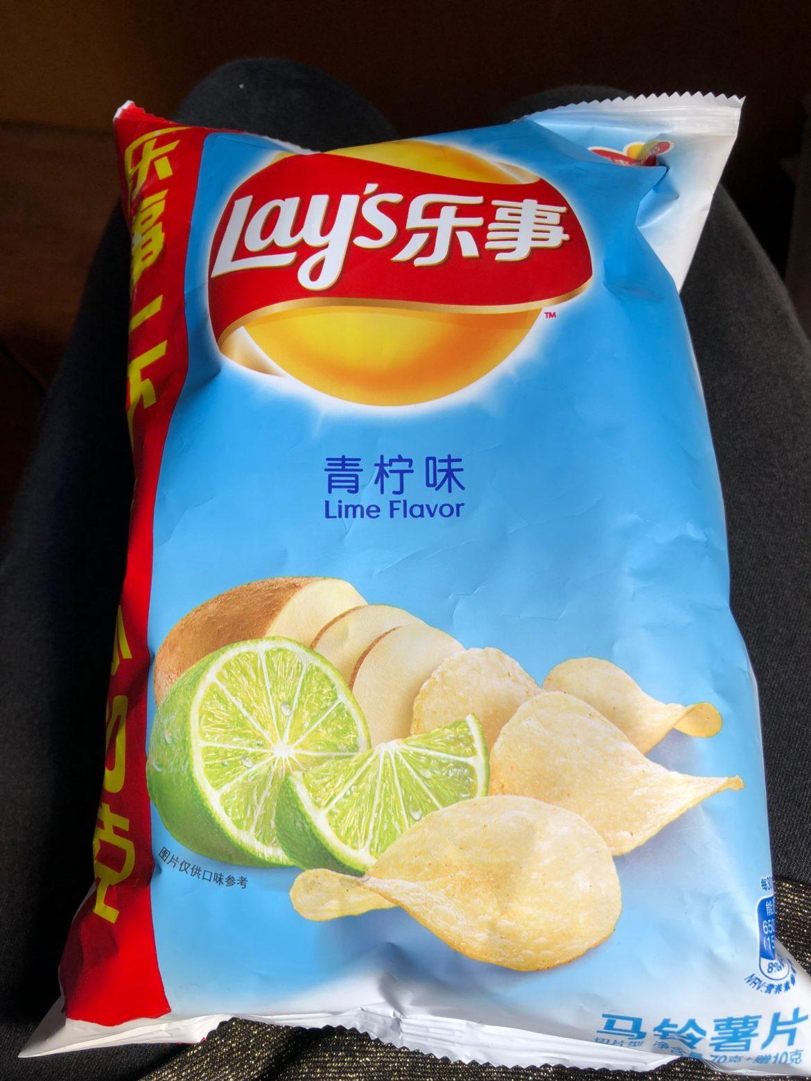 Limetten Chips zum selber nachmachen