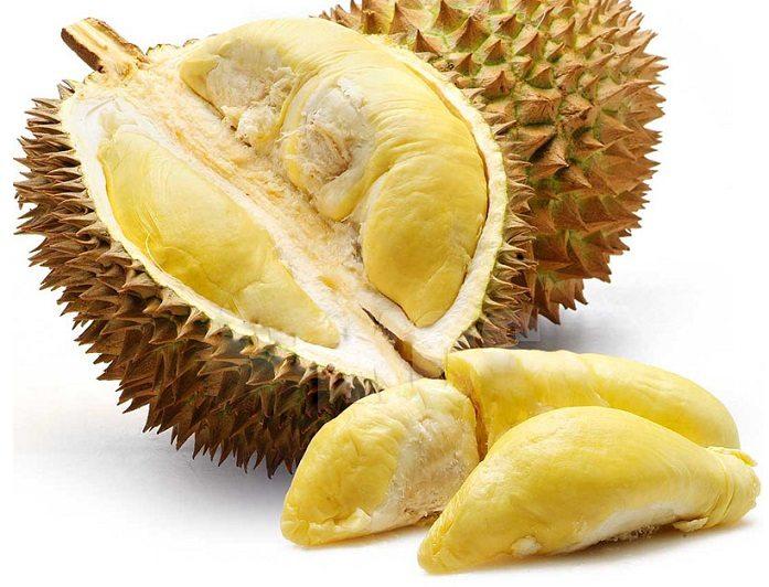 wie die durian stinkfrucht k sefrucht schmeckt und stinkt sie wirklich. Black Bedroom Furniture Sets. Home Design Ideas