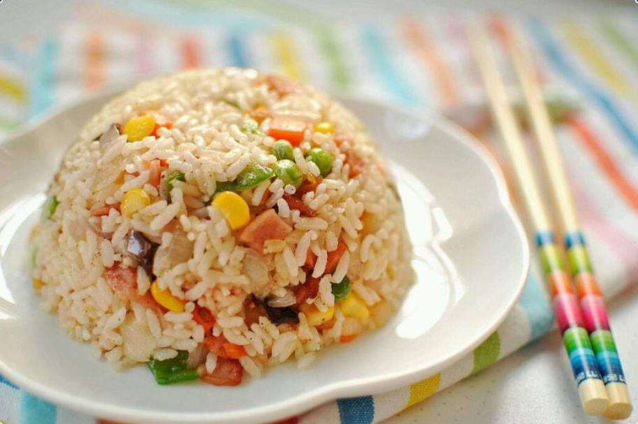 ♨ Gebratener Eierreis Rezept wie vom China Restaurant