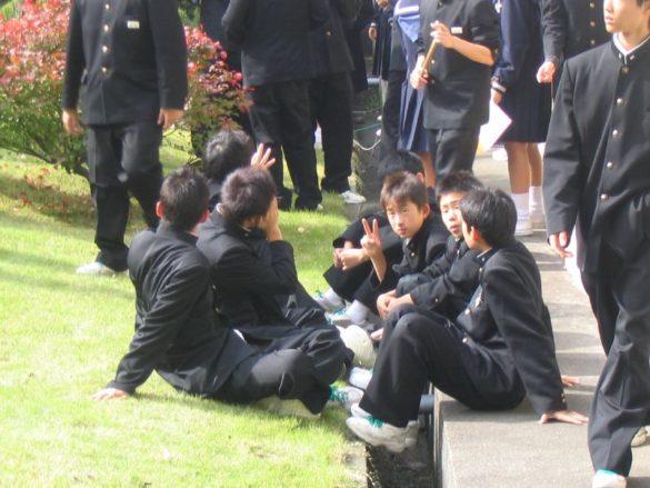 Japanische Schuluniform