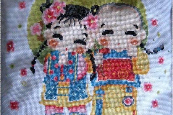 Cross Stitch / Sticken im Kreuzstich nach Vorlagen