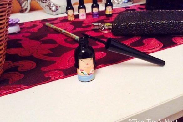 Niedliche koreanische Kosmetik Artikel – Handcreme und Eyeliner