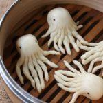 ♨ Chinesisches Dampfbrot in Krakenform – Mantou