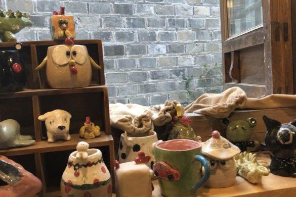 Chinesische Krimskramsläden für Geschenkartikel