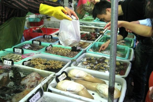 Zhuhai Wanzai Seafood Street – Frischer Meeresfrüchte Markt