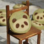 ♨ Panda Kekse aus Matcha