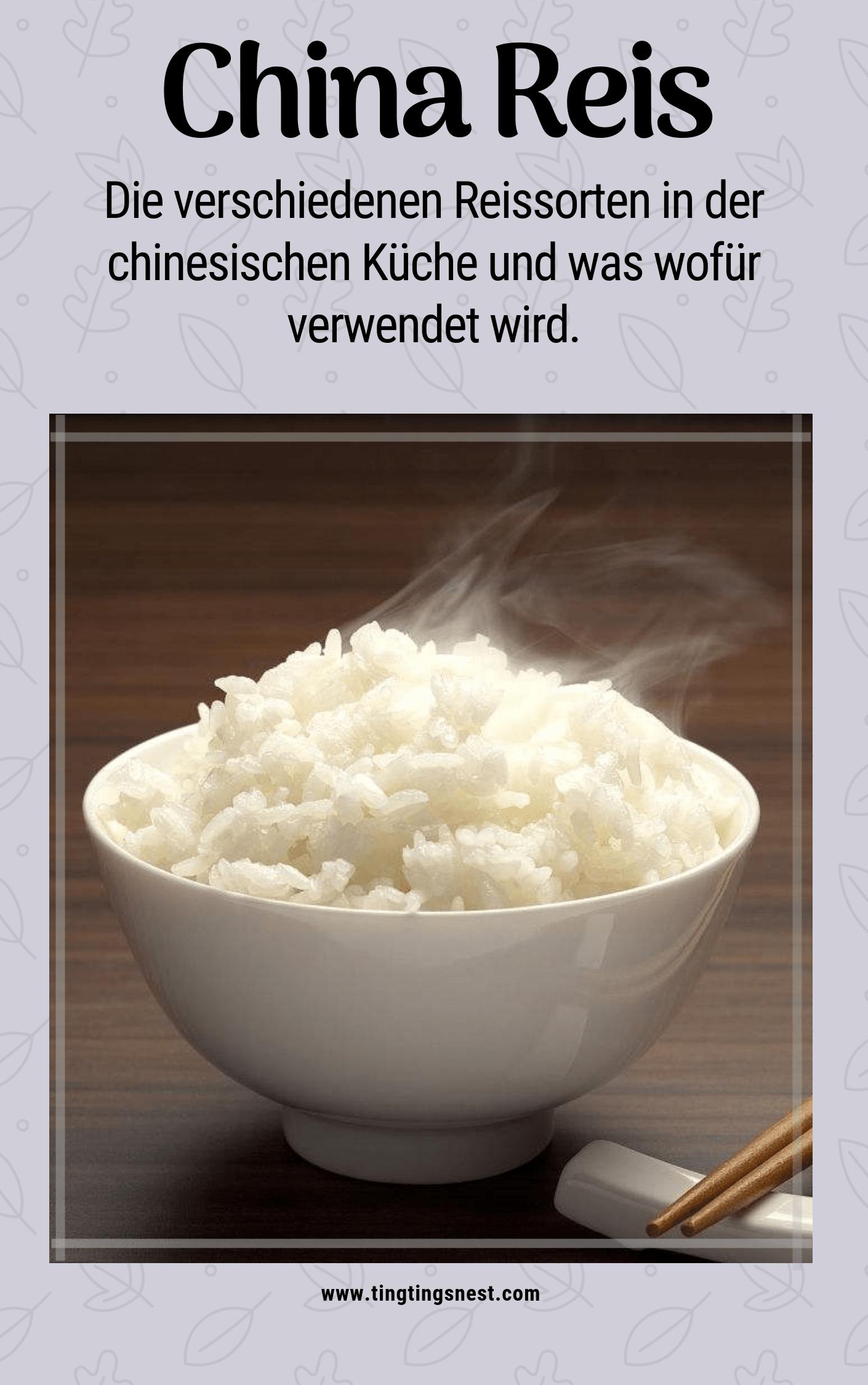 Welchen Reis Fur Die Chinesische Kuche Welche Mehlsorten