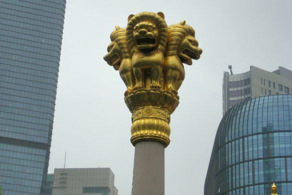 Ausflug nach Shanghai – Jing'an Tempel