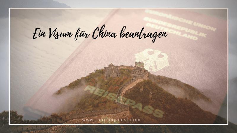 Wie man ein Visum für China beantragt