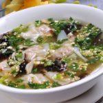 ♨ Chinesische Wan Tan Suppe – Hun Tun