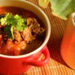 ♨ Tomaten Eintopf mit Rinderbrust – Xihongshi dun niunan